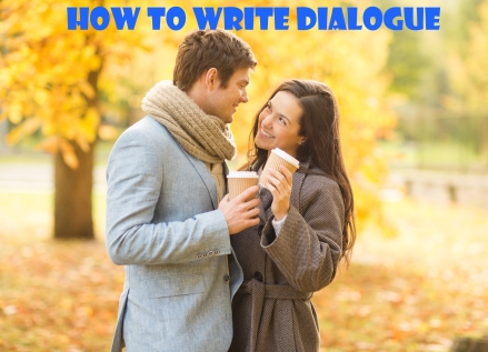 how to write dialouge